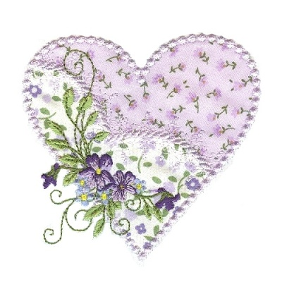 Applique Hearts 1 -9
