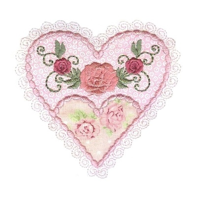 Applique Hearts 1 -12