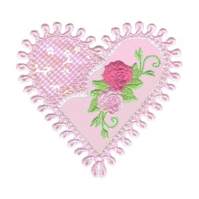 Applique Hearts 1 -13