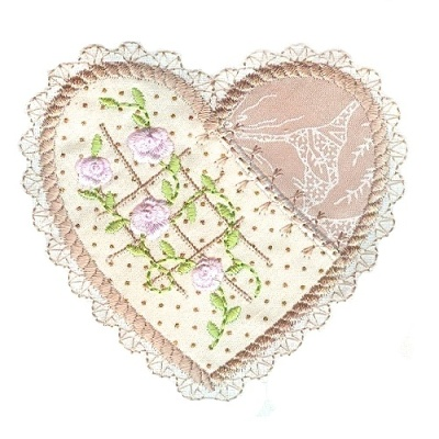 Applique Hearts 1 -14