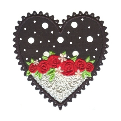 Applique Hearts 1 -16