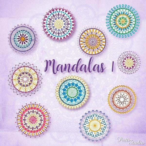 Mandalas 1 -3