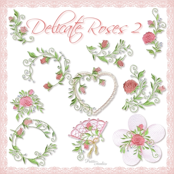 Delicate Roses 2 -3