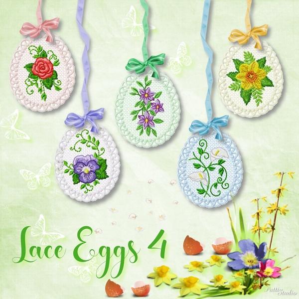 Lace Eggs 4 -3