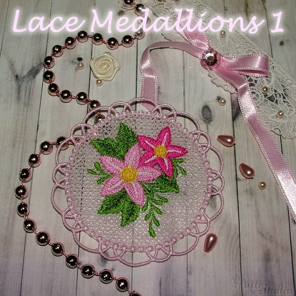Lace Medallions 1 -3