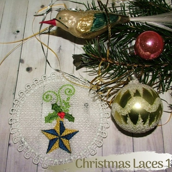 Christmas Laces 1 -3