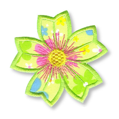 Applique Flowers 1 -15