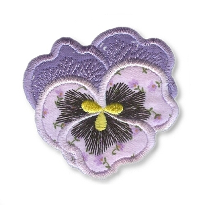 Applique Flowers 1 -17
