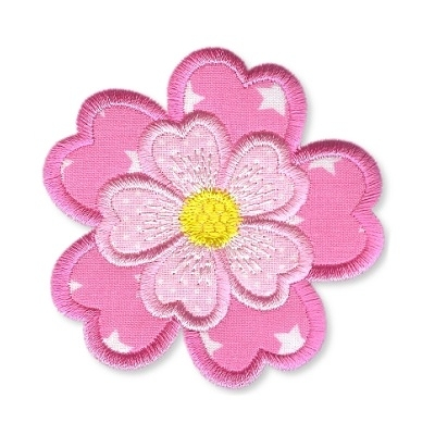 Applique Flowers 1 -18