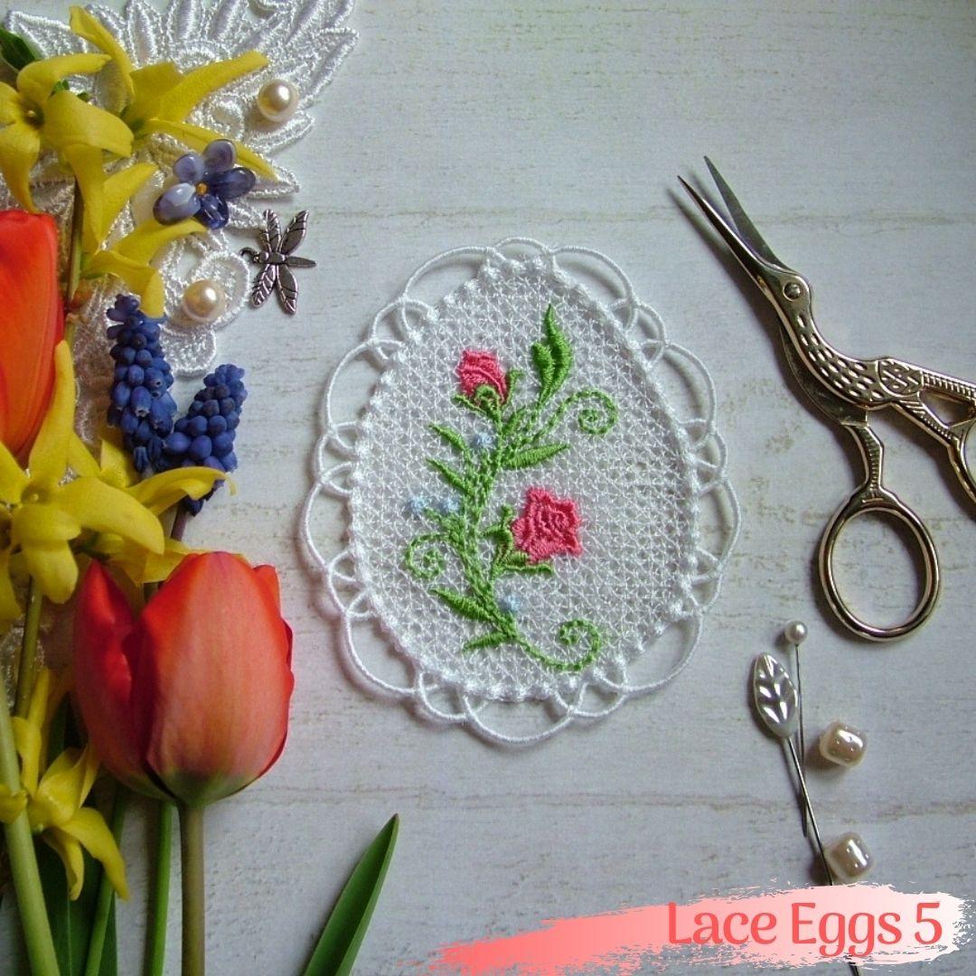 Lace Eggs 5-3
