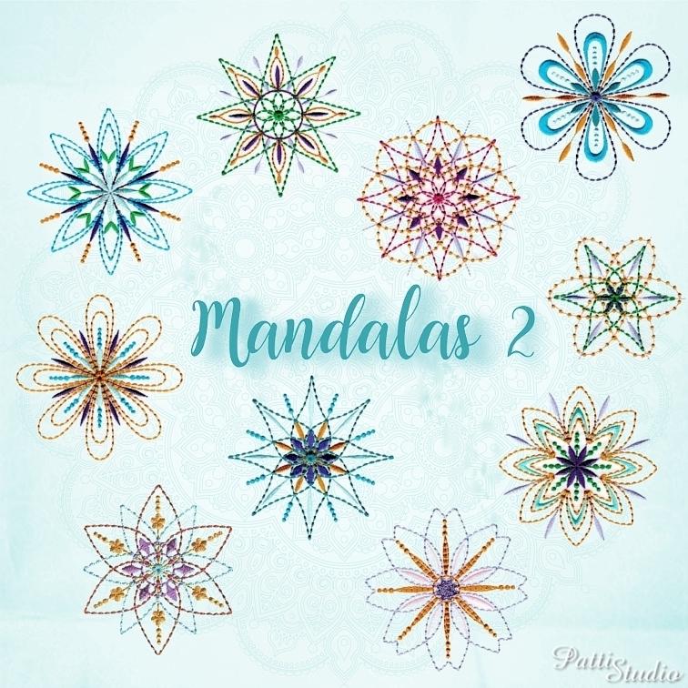 Mandalas 2-3