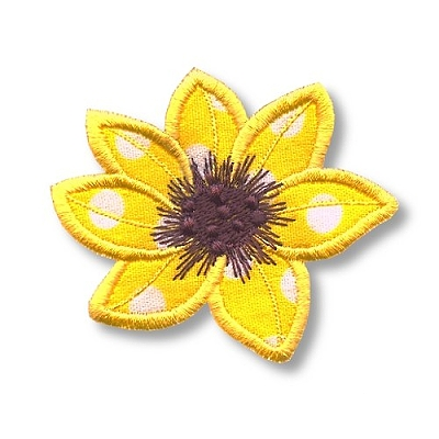 Applique Flowers 2-5
