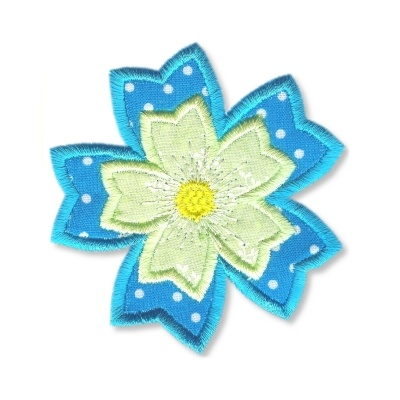 Applique Flowers 2-7