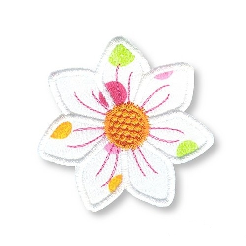Applique Flowers 2-8