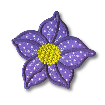 Applique Flowers 2-10