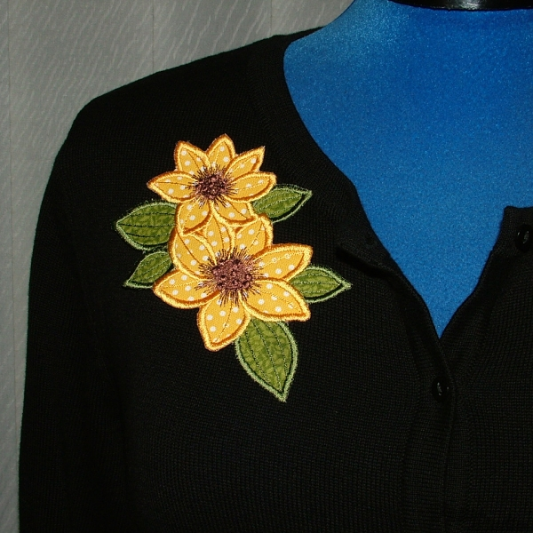 Applique Flowers 2-17