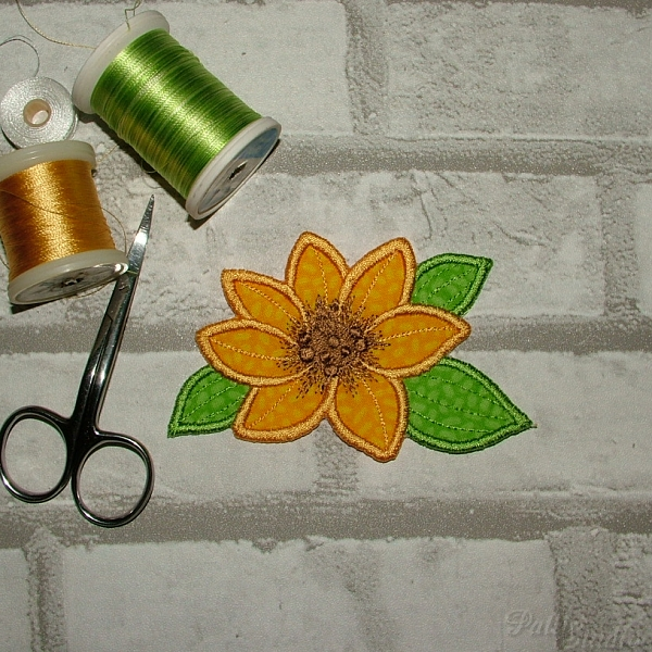 Applique Flowers 2-23