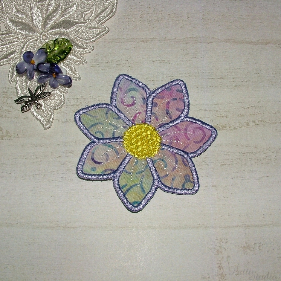 Applique Flowers 2-25