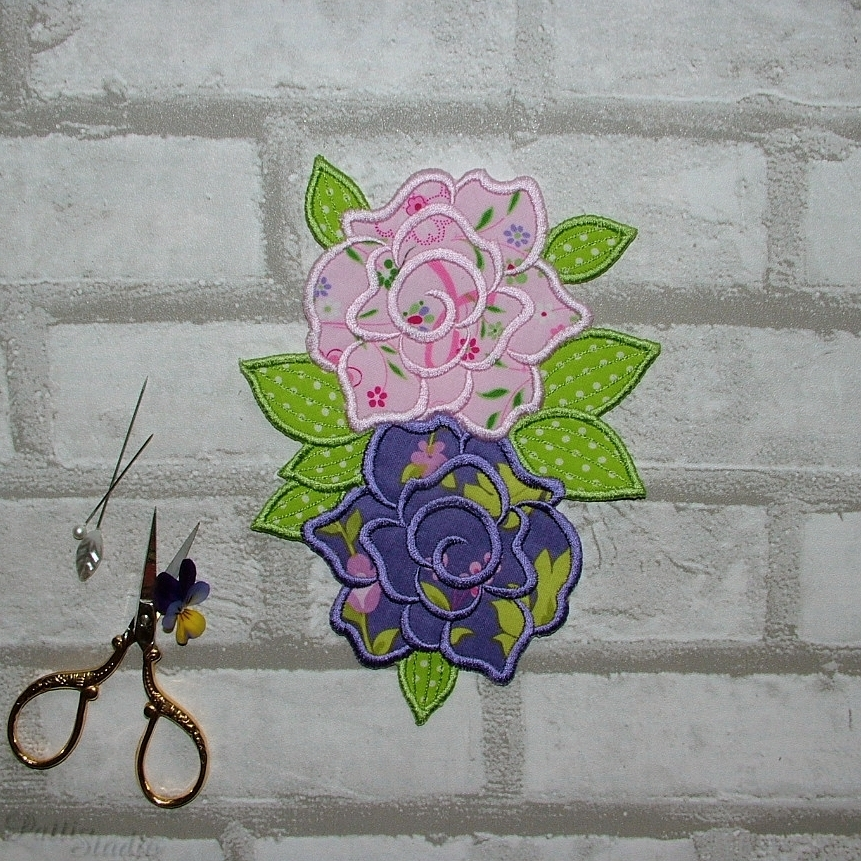Applique Flowers 2-28