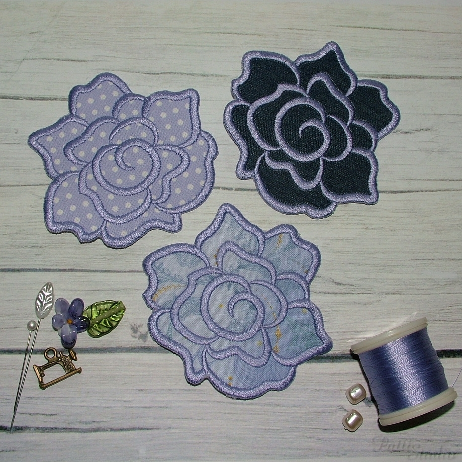 Applique Flowers 2-30