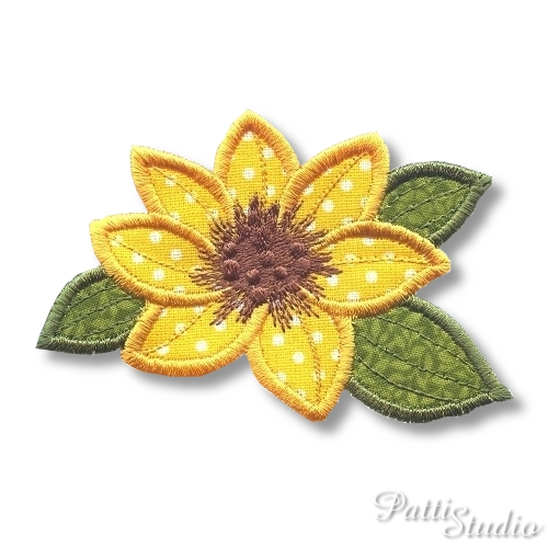 Applique Flowers 2-32