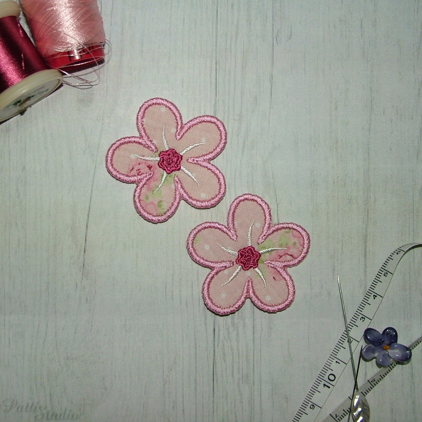 Applique Flowers 2-37