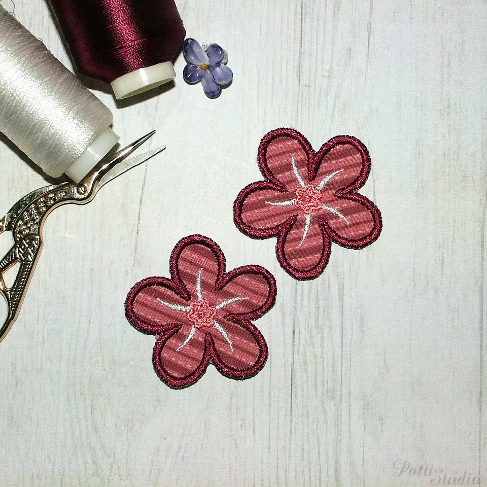 Applique Flowers 2-38