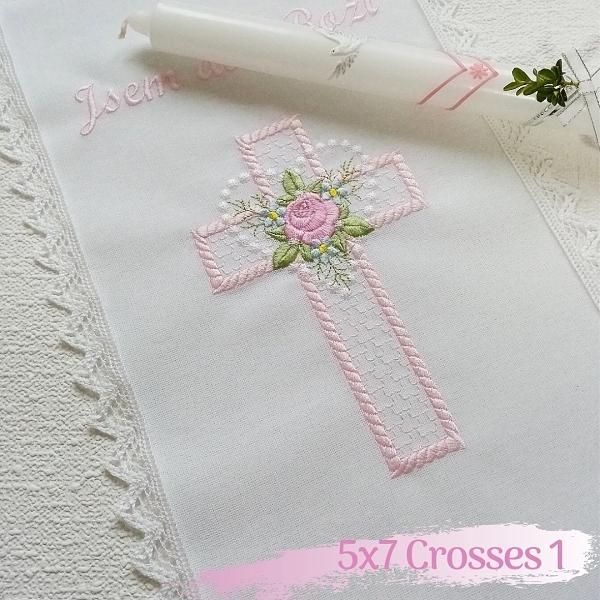 5x7 Crosses 1-3