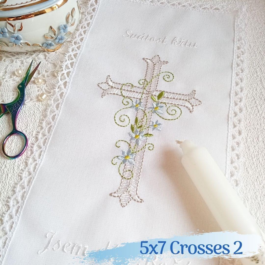 5x7 Crosses 2-3