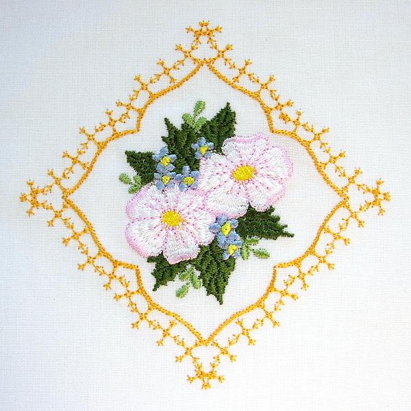 dogwood frame floral flower green