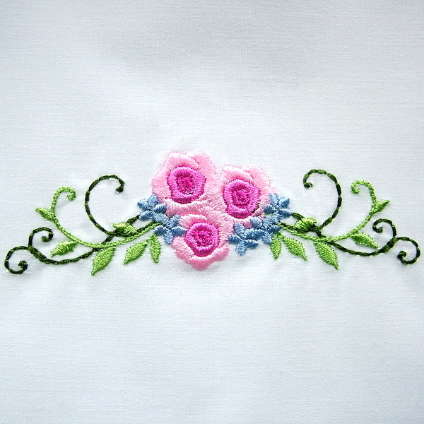 flower floral green greenery bouillon rose