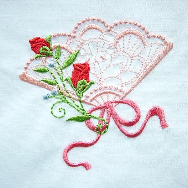 flower floral green greenery rose roses fan