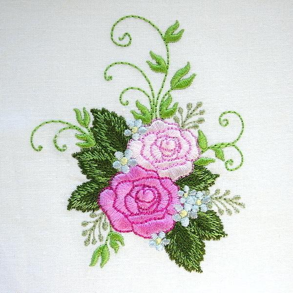 flower floral green greenery rose roses
