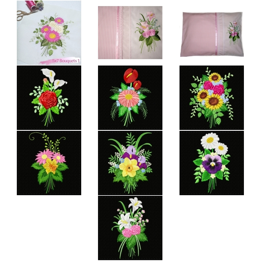 5x7 Bouquets 1