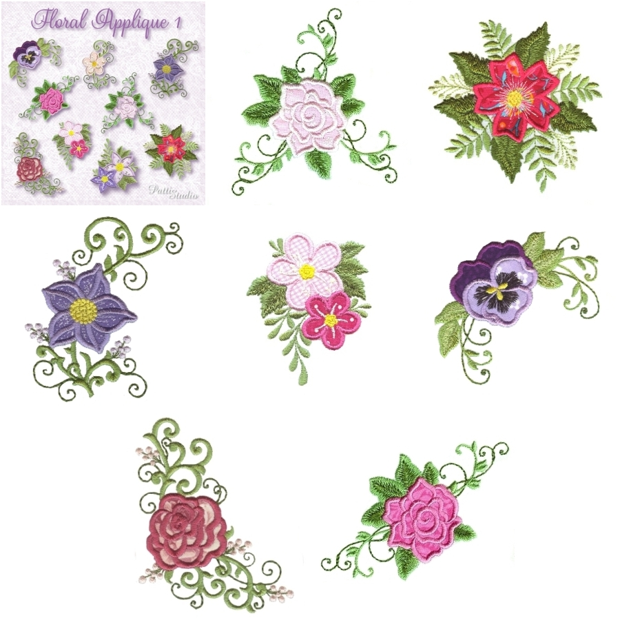 Floral Applique