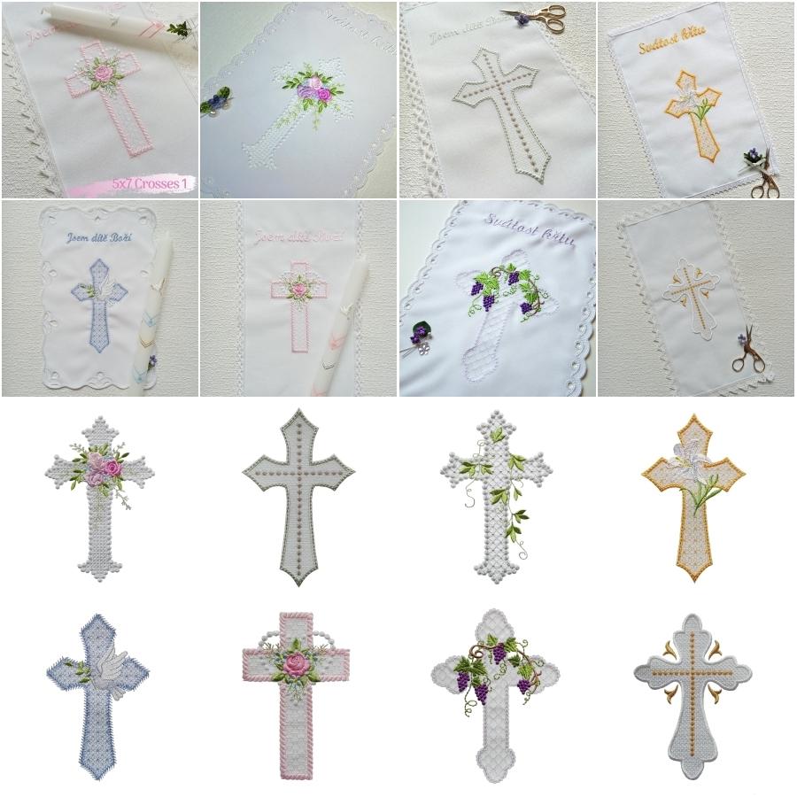 5x7 Crosses 1