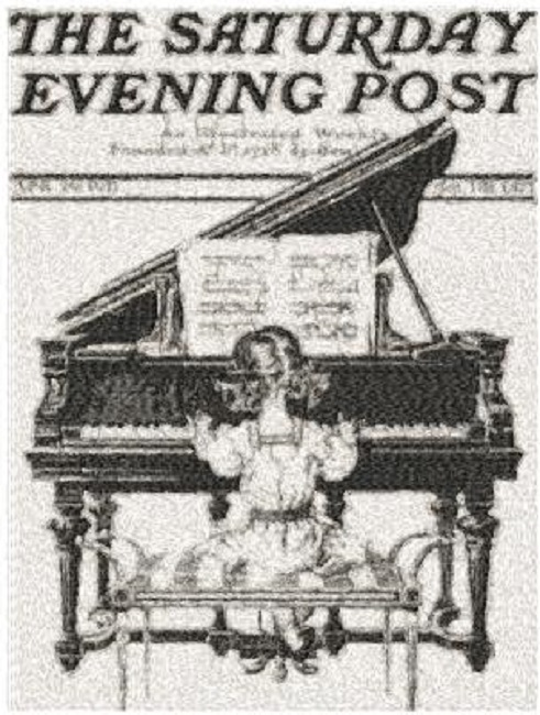 Saturday Evening Post c1911