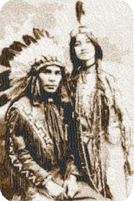 American Indian Couple
