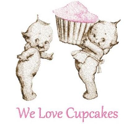 Kewpie Cupcakes