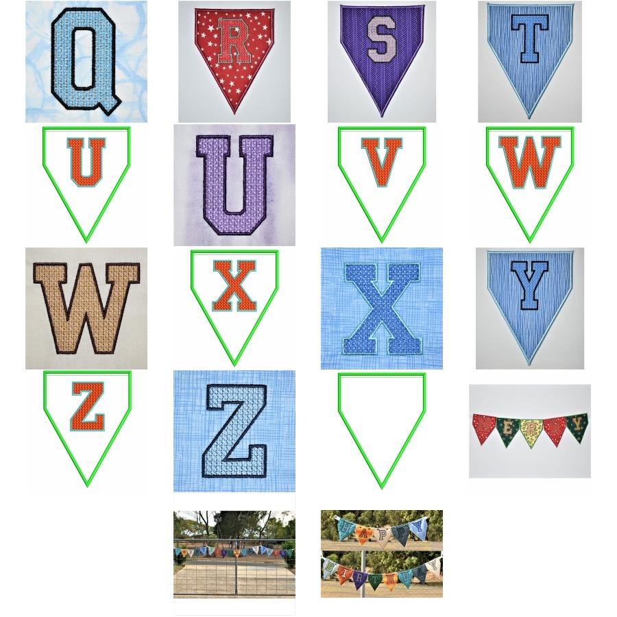 Versatile Alphabet Bunting