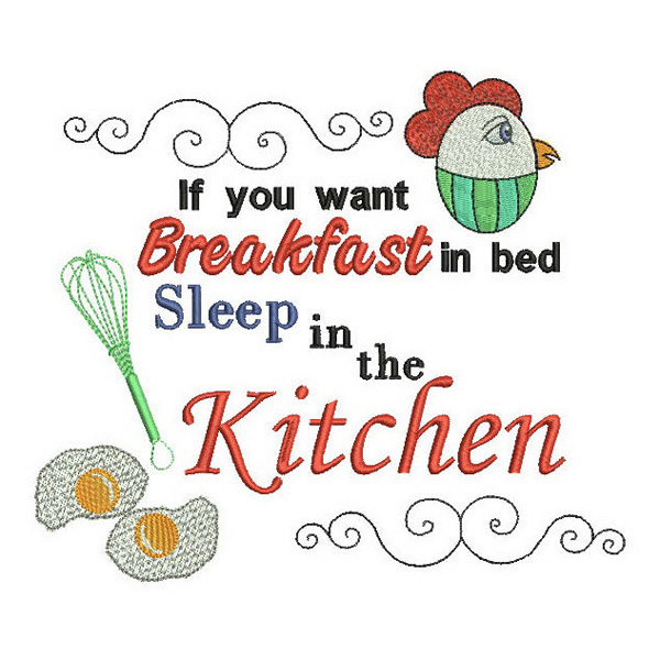 SDS0344 Breakfast in Bed