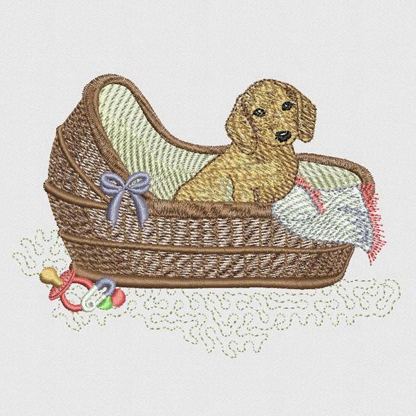 SDS0345 Puppy Baby