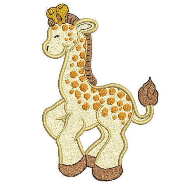 SDS0351 Giraffe Applique