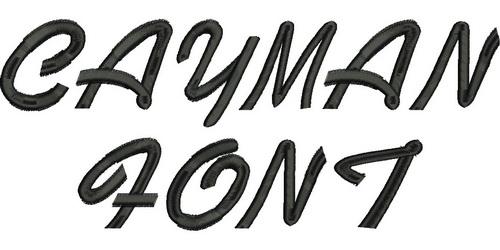 Cayman Font-3