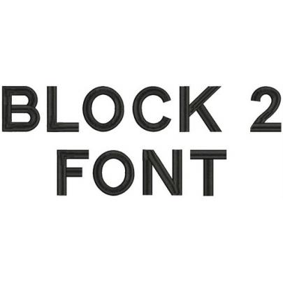 Block2 Font -3