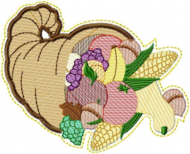Cornucopia of Thanksgiving Dangler -3