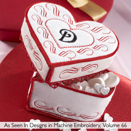 My Valentine Heart Boxes