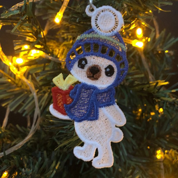 FSL Christmas Polar Bear-7