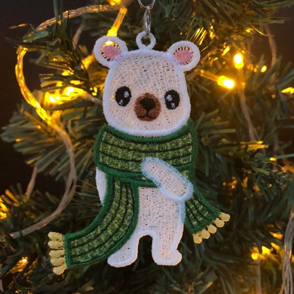 FSL Christmas Polar Bear-8