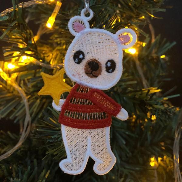 FSL Christmas Polar Bear-12